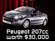 Titan Poker Peugeot 207cc Freeroll worth $30,000