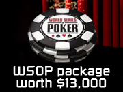 Titan Poker WSOP Package worth $13,000